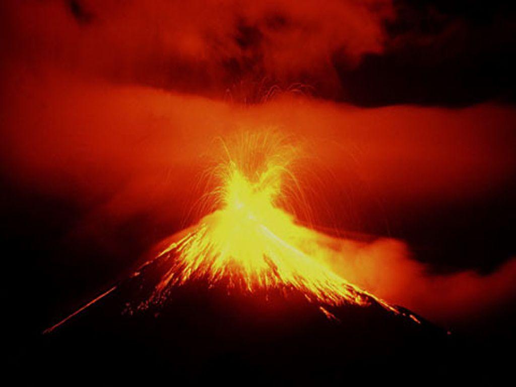 Volkanik Dağ